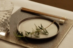 リバーシブル板皿